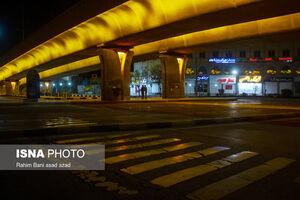 عکس/ محدودیت تردد شبانه در کرمان