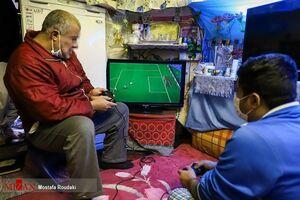 عکس/ پلیاستیشن در زندان رجایی شهر تهران