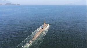 برزیل به دنبال به خدمت گیری زیردریایی اتمی+عکس