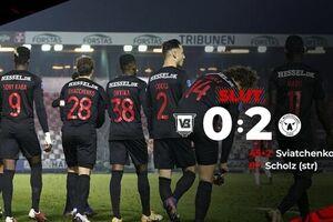 لیگ فوتبال دانمارک| شکست وایله در حضور 52 دقیقهای عزت اللهی - کراپشده