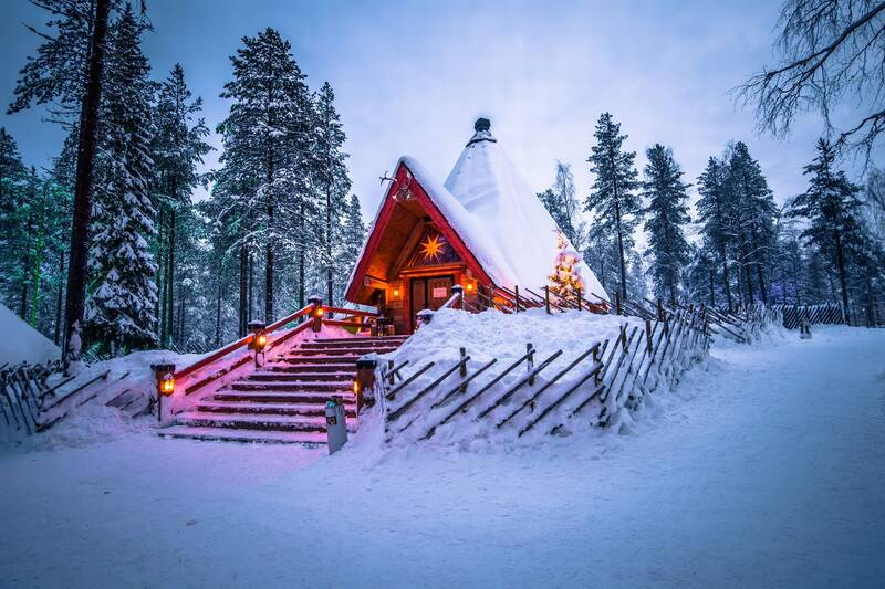 ۱۲ منظره زمستانی واقعی که به رویا شبیه هستند