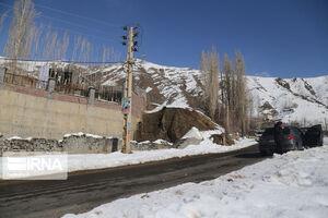 عکس/ ارتفاعات تهران سفیدپوش شد