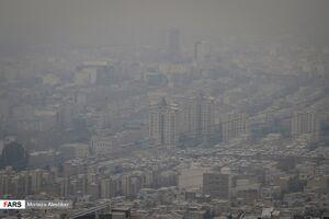 عکس/ کرج در محاصره آلایندهها