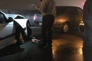 ۴مصدوم و یک فوتی در تصادف اتوبان قزوین-تهران