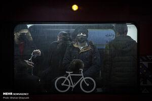 وضعیت امروز مترو تهران در ایام کرونا