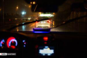 عکس/ گشت شبانه کنترل نامحسوس پلیس راهور