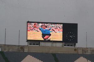 عکس/ادای احترام به مارادونا در ورزشگاه آزادی