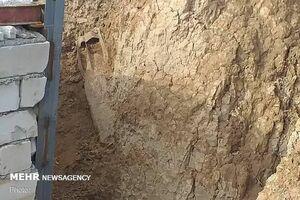 عکس/ کشف بمب مربوط به دوران دفاع مقدس در پلدختر