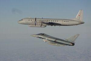 تقابل «ایلوشین-20» روسیه با «یورو فایترهای» آلمان بر فراز استونی