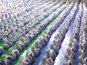 توزیع 2 هزار بسته معیشتی بین نیازمندان
