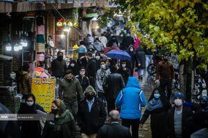 فیلم/ شلوغی عجیب جمعیت در بازار تهران
