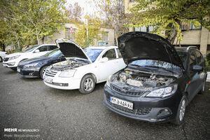 عکس/ خودروهای کشف شده از سارقان پایتخت
