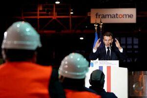 ماکرون : صنعت هستهای اساس استقلال راهبردی فرانسه است