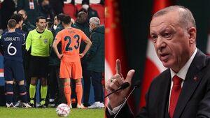 واکنش اردوغان به توهین نژادپرستانه به مربی باشاک
