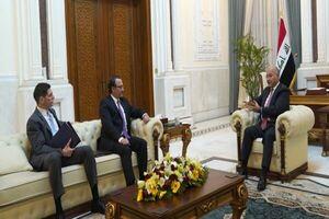 «برهم صالح» با معاون وزیر خارجه آمریکا دیدار کرد