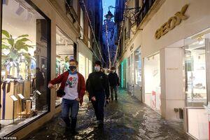 عکس/ سیل در ونیز