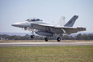 عکس/ حادثه برای اف 18 ارتش استرالیا