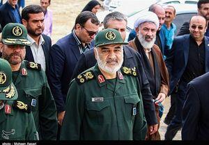 بازدید میدانی سرلشکر سلامی از بندر امام خمینی +فیلم