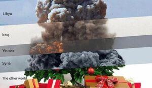 کریسمس به سبک آمریکایی+عکس