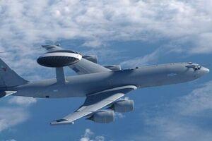 اعلام وضعیت اضطراری از سوی هواپیمای «آواکس نیروی هوایی انگلیس»