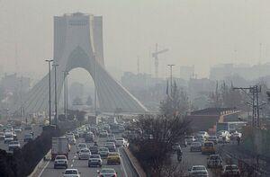 آلودگی هوای پایتخت ادامه دارد