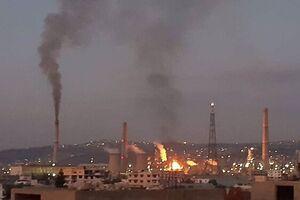 انفجار در پالایشگاه نفتی انفجار نمایه