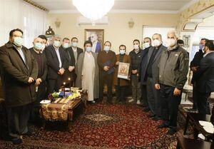 فرزندان شهدای شاخص در منزل شهید فخریزاده+عکس