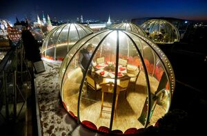 رستوران های ضدکرونا در روسیه