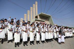 عکس/ ازدواج ۳۳۰۰ جوان یمنی در صنعا