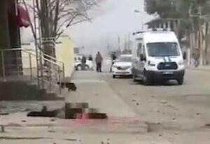 اولین تصاویر از محل انفجار انتحاری در روسیه