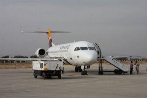 اولین تصویر از هواپیمای حامل واکسن کرونا در فرودگاه امام