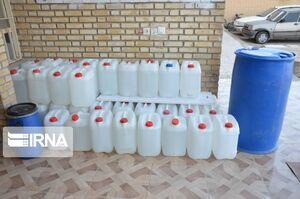 کشف یکهزار لیتر الکل سفید غیرمجاز در خرمشهر