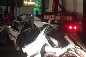 ۸ کشته و زخمی در تصادف خودرو سواری سمند با پراید در محور مواصلاتی یاسوج_شیراز