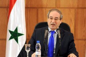 فیصل المقداد وزیر خارجه سوریه