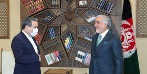 صلح افغانستان؛ محور گفتگو عراقچی و عبدالله