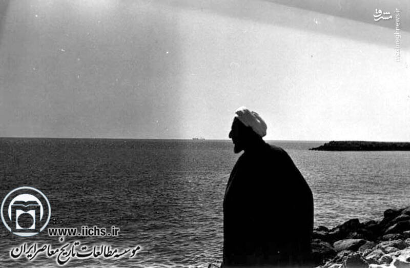 1353. آیتالله محمد یزدی در دوره تبعید در شهر رودبار