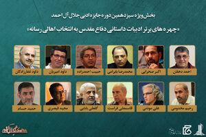برندگان بخش ویژه جایزه جلال آل احمد معرفی شدند