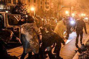 تیراندازی و چاقوکشی در اعتراضات انتخاباتی آمریکا +فیلم