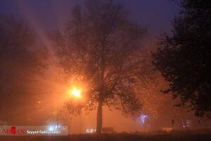 عکس/ کلات در مه