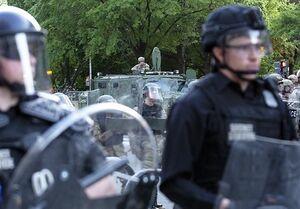 مجلس ایالتی میشیگان به دلیل تدابیر امنیتی تعطیل شد