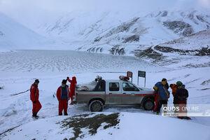 جستجوی کوهنورد مفقود شده در بهمن