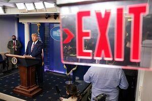 تغییر رسمی مهرهها در کاخ سفید