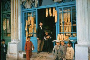 عکس/ نانوایی بربری در تهران قدیم