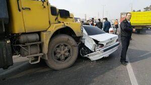 تماشای صحنه تصادف باز حادثه آفرید!