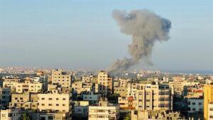 اولین تصویری که از حملات اسرائیل به غزه در سال ۲۰۰۸ منتشر شد