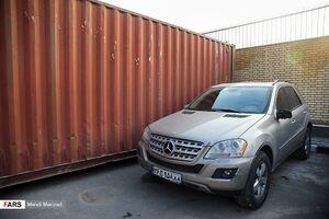 عکس/ کشف خودروی قاچاق توسط پلیس امنیت