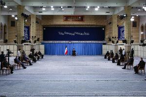 کلیپ دیدنی از دیدار امروز رهبر انقلاب با خانواده سردار شهید سلیمانی