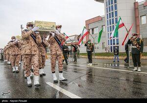 عکس/ مراسم استقبال از شهدای گمنام در کردستان