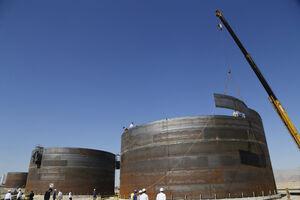 عکس/بازدید پرویز فتاح از بزرگترین خط انتقال نفت خام در خاورمیانه