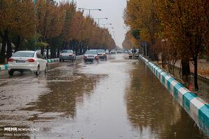 فعالیت سامانه بارشی در اغلب مناطق استان تهران
